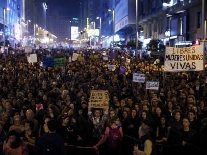 Manifestación del día 8 de marzo