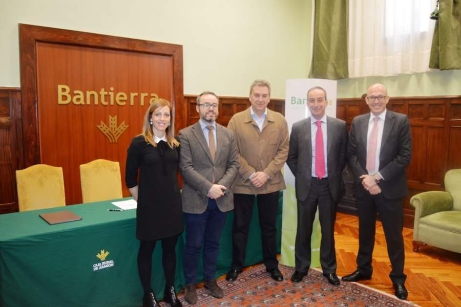 Bantierra y airbe promover n iniciativas de apoyo a for Pisos bantierra