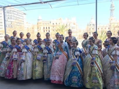 Las falleras mayores de València, con la Guía de '20minutos'