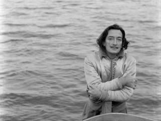 Foto de Salvador Dalí, del fondo Ricardo Sans