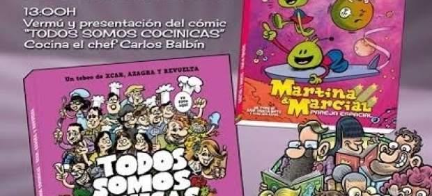 Presentación del cómic 'Martina y Marcial, pareja especial'