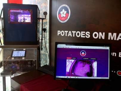 Patatas en Marte