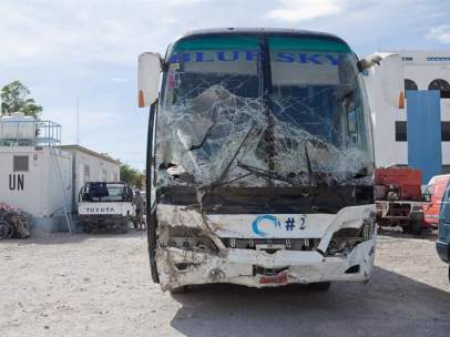 Accidente en Haití