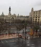 L'AJuntament de València suspén la mascletà de hui dilluns 13 pel temporal.
