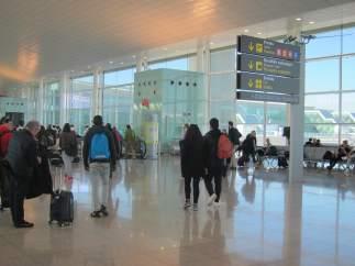 T1 del Aeropuerto de Barcelona.
