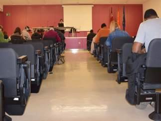 Imagen de las últimas pruebas de competencias clave acogidas por el SEF