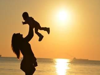 Una mare amb el seu fill