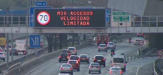 Activado el 'Escenario 1' por contaminación en Madrid