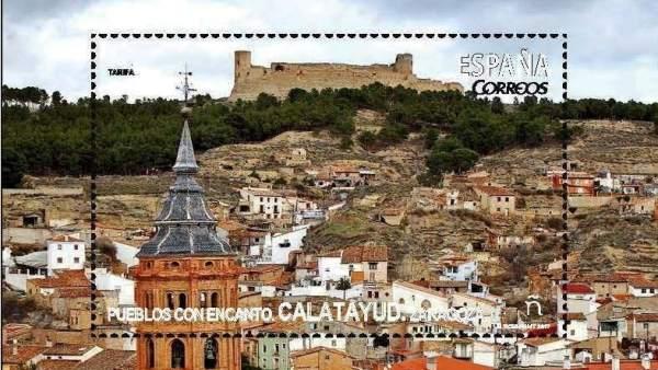 Nuevo sello de CORREOS dedicado a Calatayud