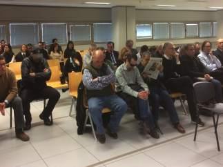 Juí del cas Emarsa en la Ciutat de la Justícia de València
