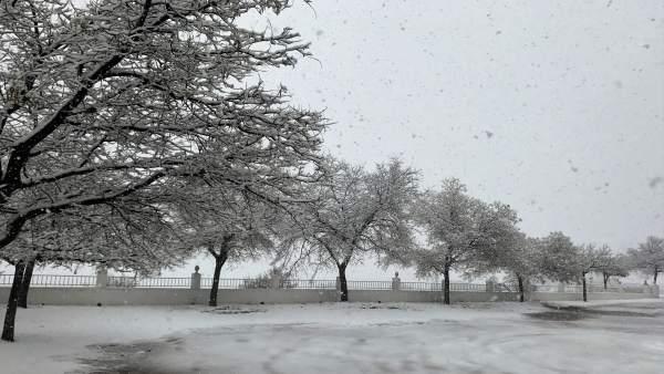 Nieve en María