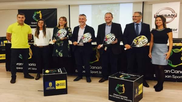 Presentación del Open Gran Canaria Nissan 2017