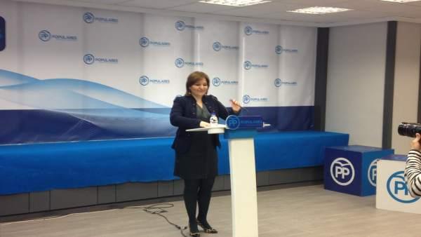 Bonig en la rueda de prensa de este martes en València