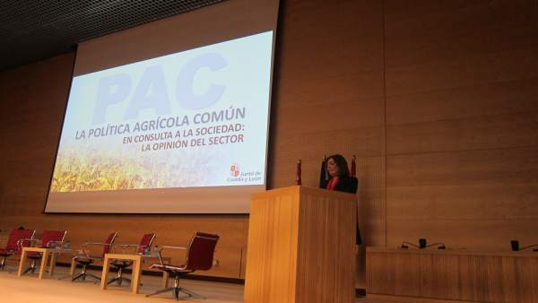 Valladolid. Marcos en una jornada sobre la reforma PAC
