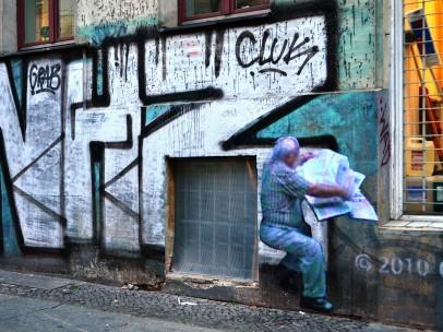 Paolo Cirio, Street Ghosts, installed at 9 Adalbertstraße, Berlin, Germany