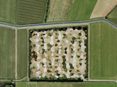 Mishka Henner, Nato Storage Annex, Coevorden, Drenthe, 2011, from the series Dutch Landscapes