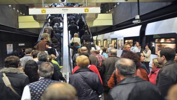 La vaga en FGV deixarà dos de cada 13 trens sense circular del 15 al 20 de març