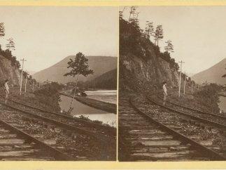 'Rising Mist after Rain, Juniata River', c. 1862