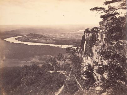 'Chattanooga, Tennessee, from Lookout Mountain', 1863-1865