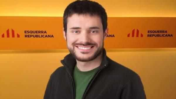 El senador de Esquerra Republicana Bernat Picornell
