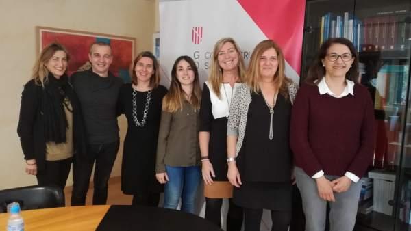 Reunión entre la consellera de Salut y la Asociación balear de salud mental
