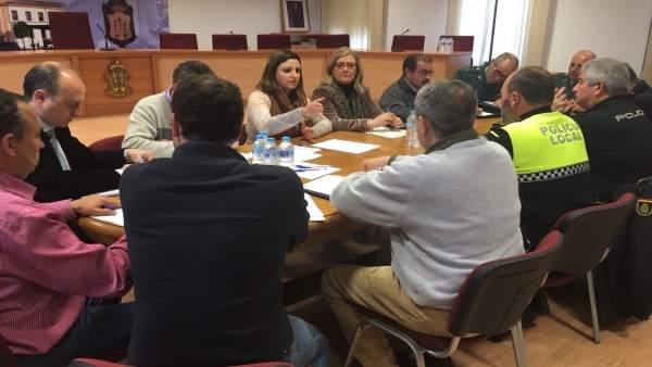 Reunión de la Junta Local de Seguridad de Peal de Becerro