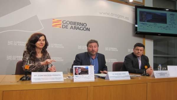 Presentación posta Correos del tramo aragonés Camino Santiago