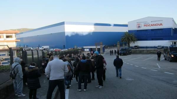 Huelga del personal de Pescanova