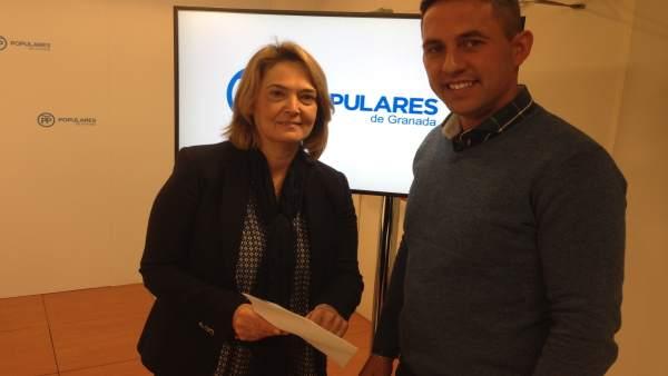 Presentación de moción de censura del PP en Los Guájares