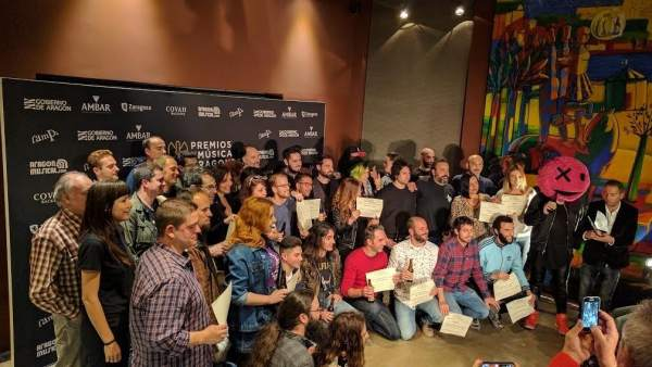 XVIII Premios de la Música Aragonesa Aragón Musical.
