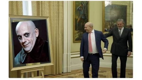 Los mejores memes de la inauguración del retrato del exministro Wert