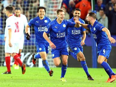 Gol del Leicester