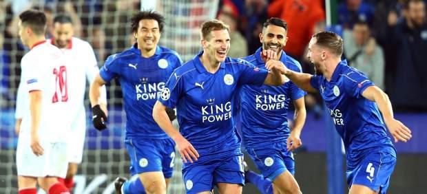 Gol del Leicester