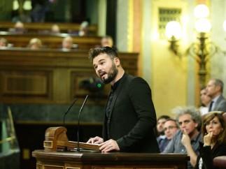 """Rufián tacha de """"miserable"""" e """"irresponsable"""" a Zoido y se niega a retirar sus palabras"""