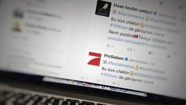 Pirateo en Twitter