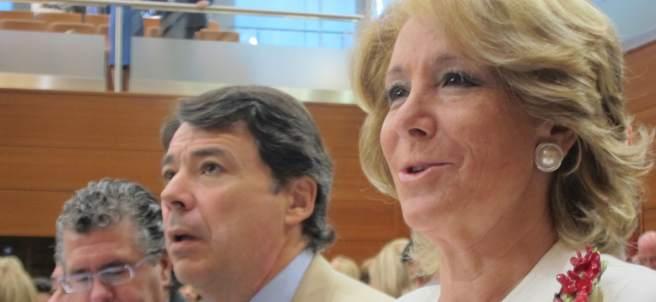 Esperanza Aguirre, Ignacio González y Francisco Granados