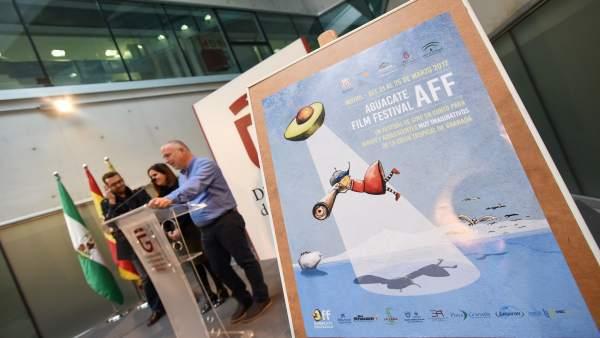Presentación en Granada del Aguacate Film Festival