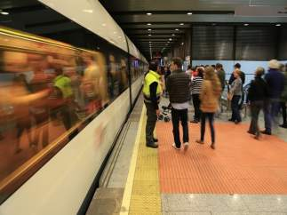 Imatge d'una estació de Metrovalencia