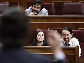 Hernando e Iglesias en el Congreso