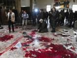 El Palacio de Justicia de Damasco, lugar del atentado.