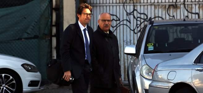 Luis Andrés Garcia, Luigi, llegando a la Audiencia Nacional.