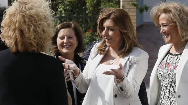 Susana Díaz, en Sevilla