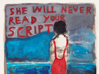 Benoît Delhomme - She Will Never Read Your Script, 2016
