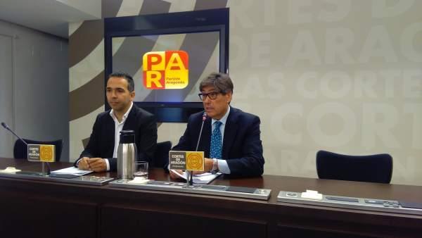 Jesús Guerrero y Arturo Aliaga (PAR)