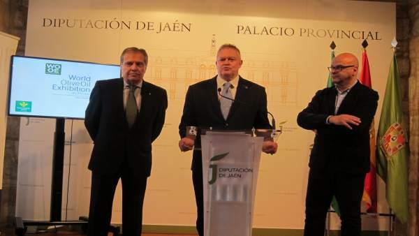 Presentación de la presencia jiennense en la World Olive Oil Exhibition.
