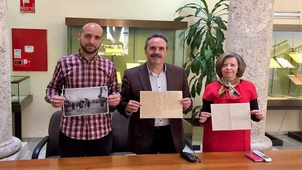Presentación del 'documento del mes' en el Archivo de Almería