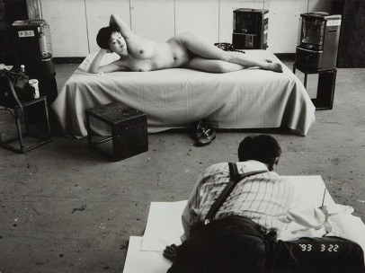 Nobuyoshi Araki, Untitled, from '101 Works for Robert Frank (Private Diary)', 1993