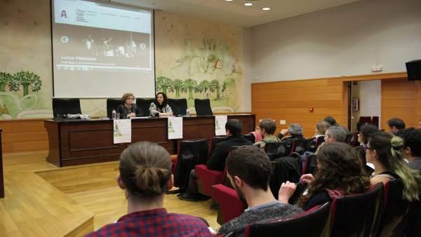 Asamblea de las Aulas de Teatro Universitarias Andaluzas celebrada en la UJA.