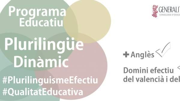 El 54% de les escoles públiques valencianes trien el nivell avançat de plurilingüisme