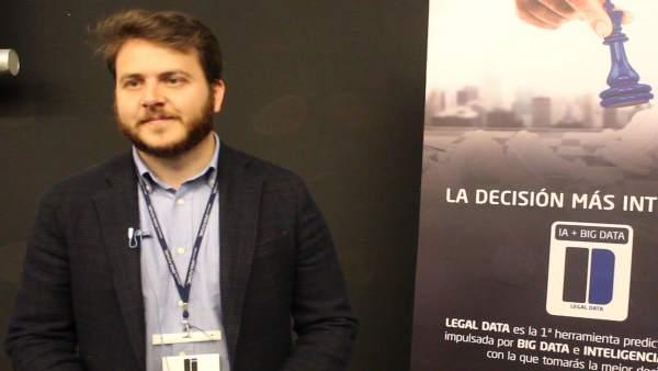 El director de la 'startup', Carlos Ibáñez